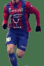 Alvaro Cano delantero del Tudelano