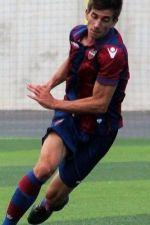 Antonio Fernandez delantero del Levante y Manchego Ciudad Real