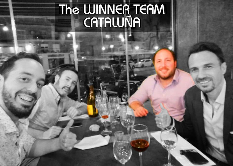 The WINNER TEAM CATALUÑA