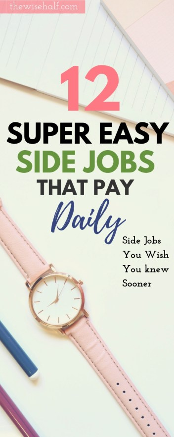 free online jobs that pay daily