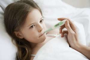 how to handle fever in children
