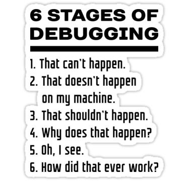 debugging joke bug