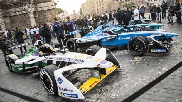 formula e - eprix Roma 2018