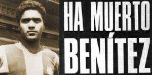 L'annuncio della morte di Benítez. Fonte: alchetron.com