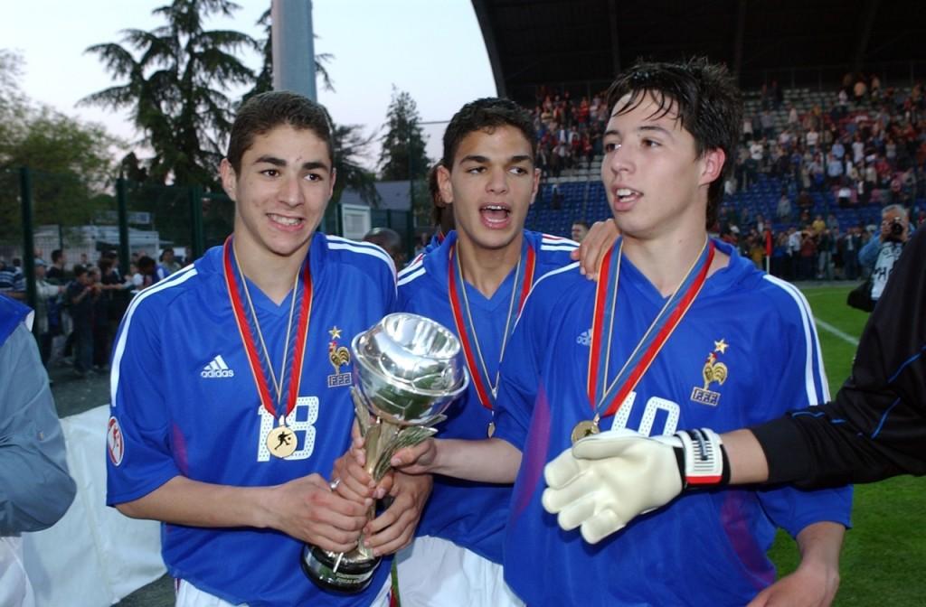 Nasri, Ben Arfa, Benzema