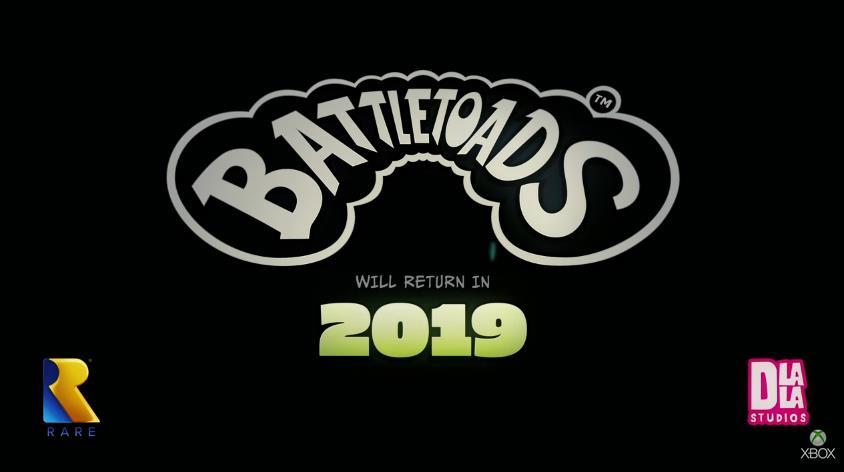 E3 2018 Microsoft Battletoads