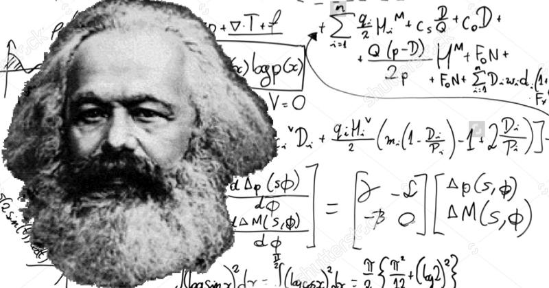 Karl Marx il matematico: la dialettica nel calcolo differenziale