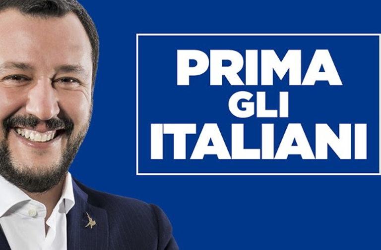 Prima gli italiani, ovvero l'incoerenza programmatica