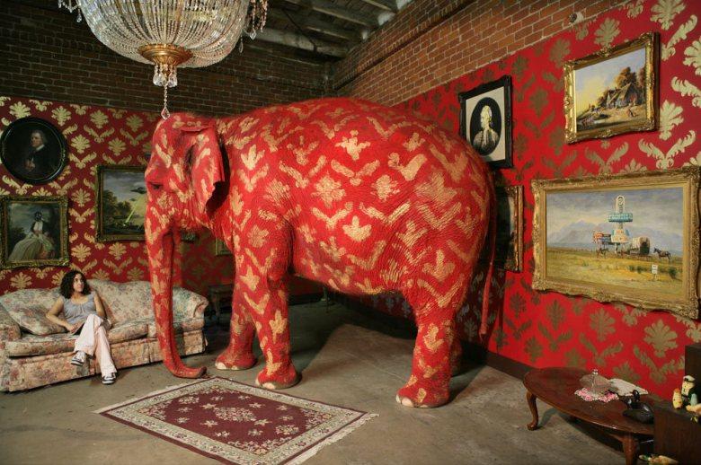 elefante banksy