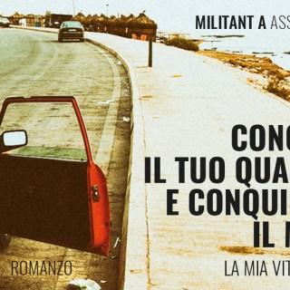 copertina del libro di Militant A. Foto: Tutta Scena