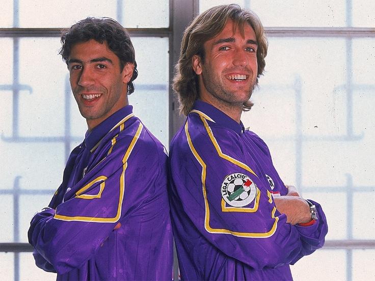 Batistuta Rui Costa Fiorentina