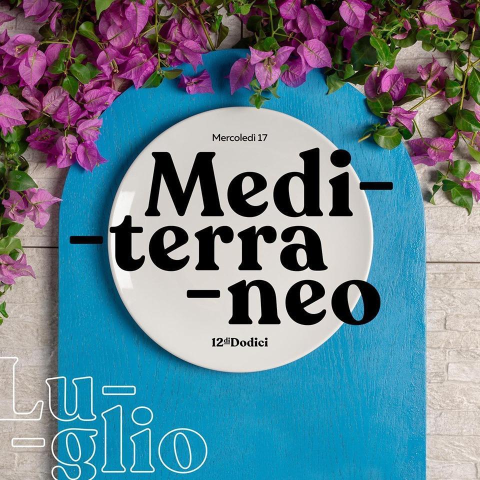 Mediterrano, il nuovo evento Dodici con Erminio Sinni