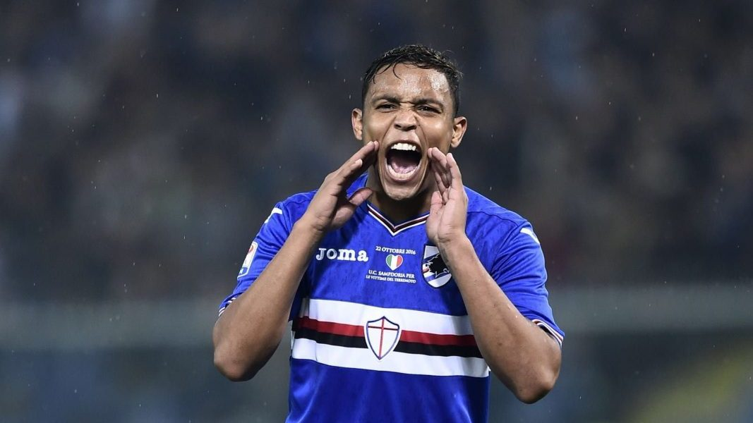 Luis Muriel, Sampdoria. Credit: Getty Images