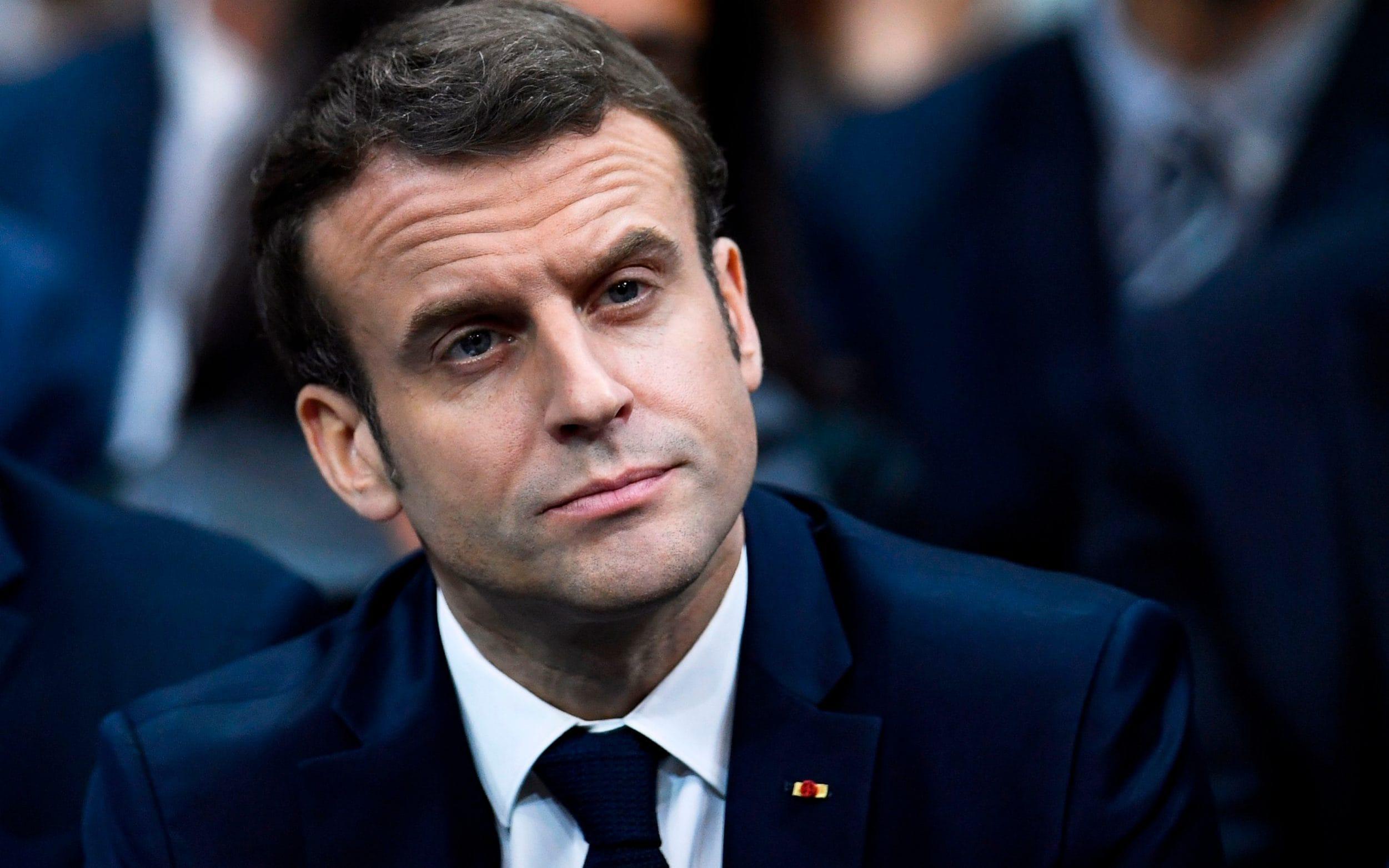 Gli ultimi, esausti, anni di Macron