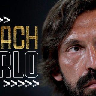 Andrea Pirlo è il nuovo allenatore della Juventus. Foto: twitter.com/juventus