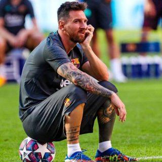 Leo Messi via dal Barcellona? Foto: twitter.com/fcbarcelona