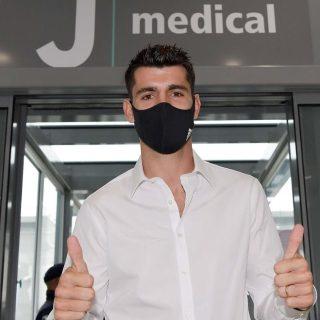 Álvaro Morata torna alla Juventus in prestito biennale rinnovable, con diritto di riscatto. Foto: juventus.com