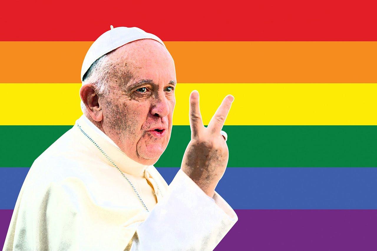 """Il """"coming out"""" del Papa: """"Sì alle unioni civili per gli omosessuali"""""""