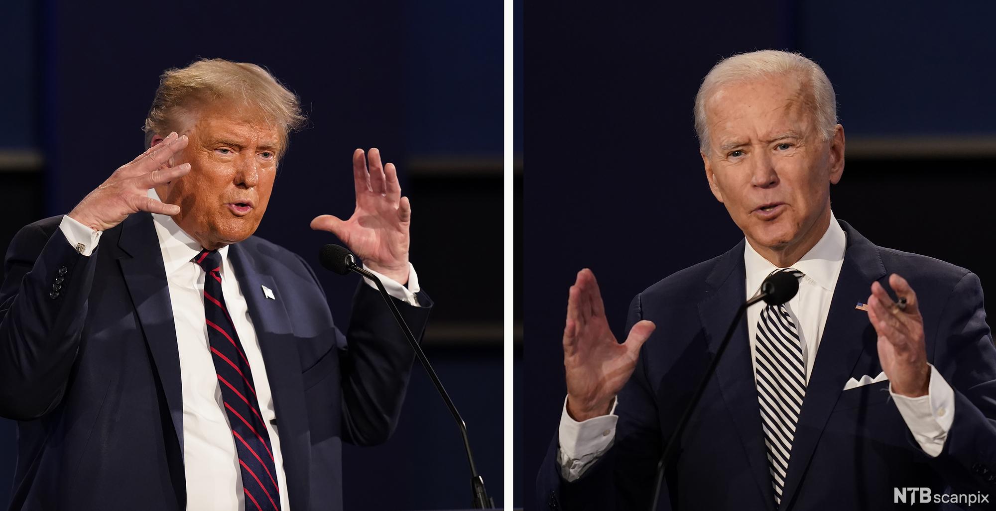 Come è andato il secondo dibattito tra Trump e Biden