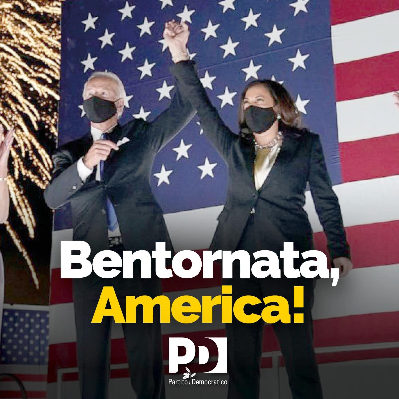 bentornata America