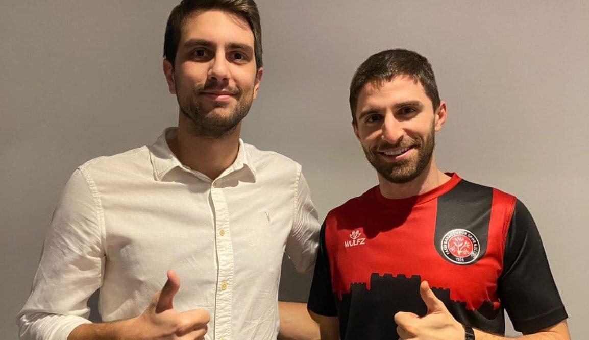 Fabio Borini è un nuovo calciatore del Fatih Karamgumruk. Foto: twitter.com/karamgumruk_sk