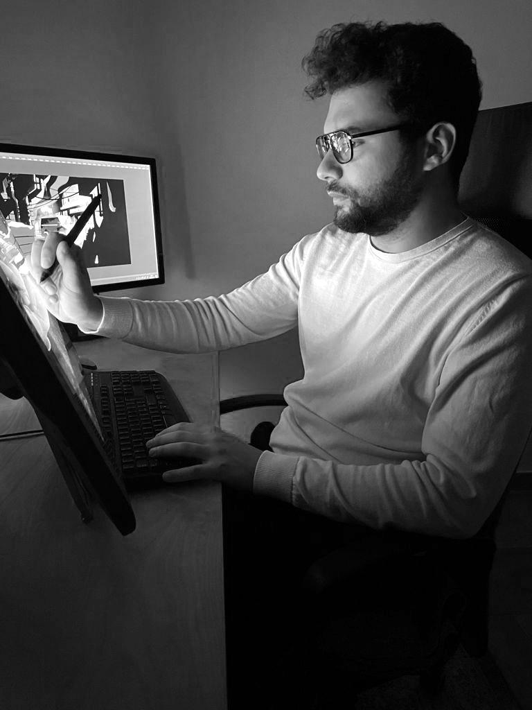Gianmarco Veronesi, tra fumetti e illustrazioni