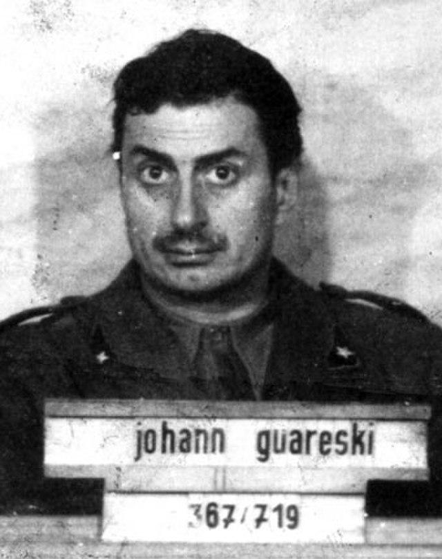 Guareschi prigioniero (via Wikimedia Commons)