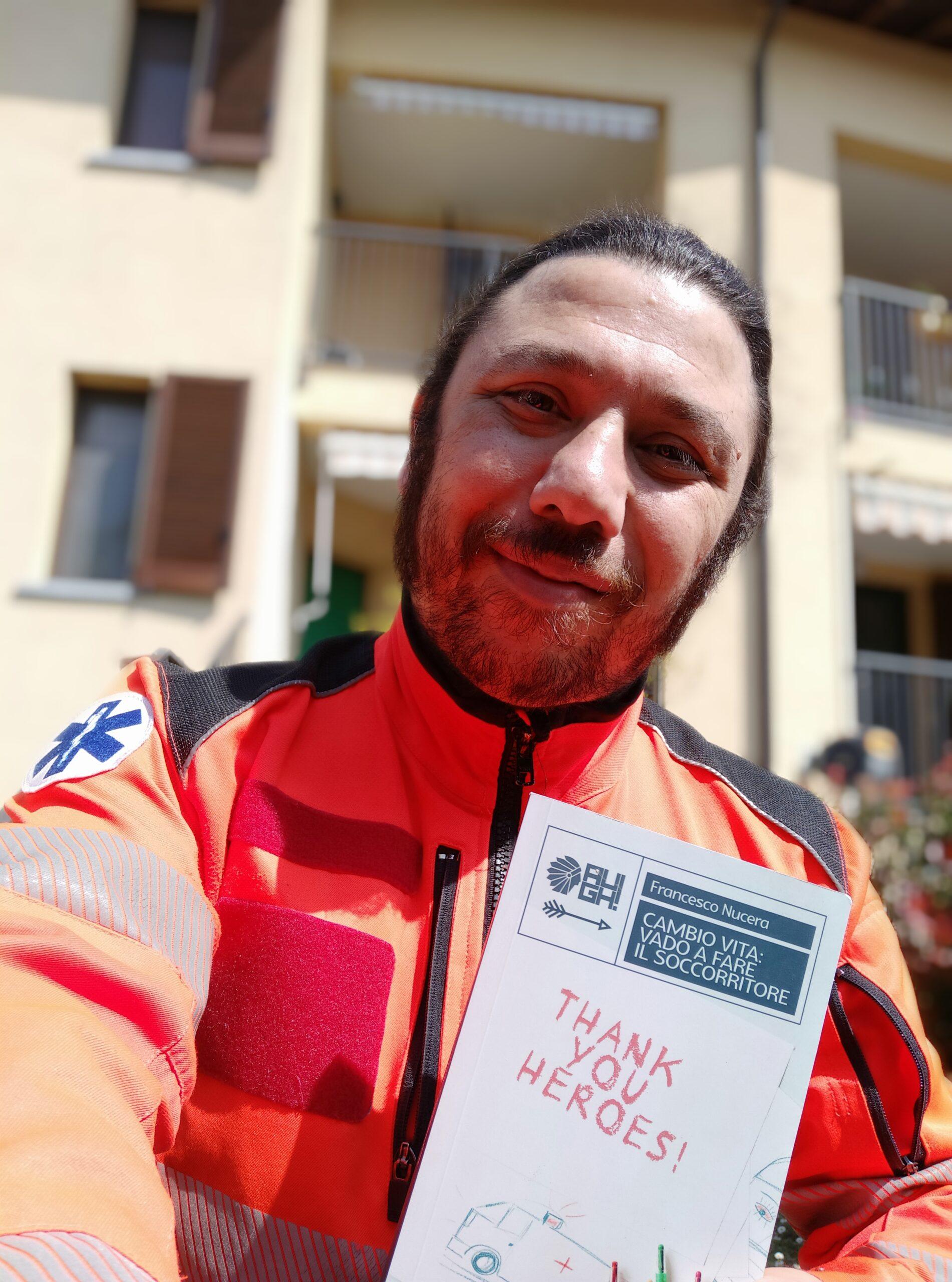 Francesco Nucera: è il momento di raccontare i soccorritori