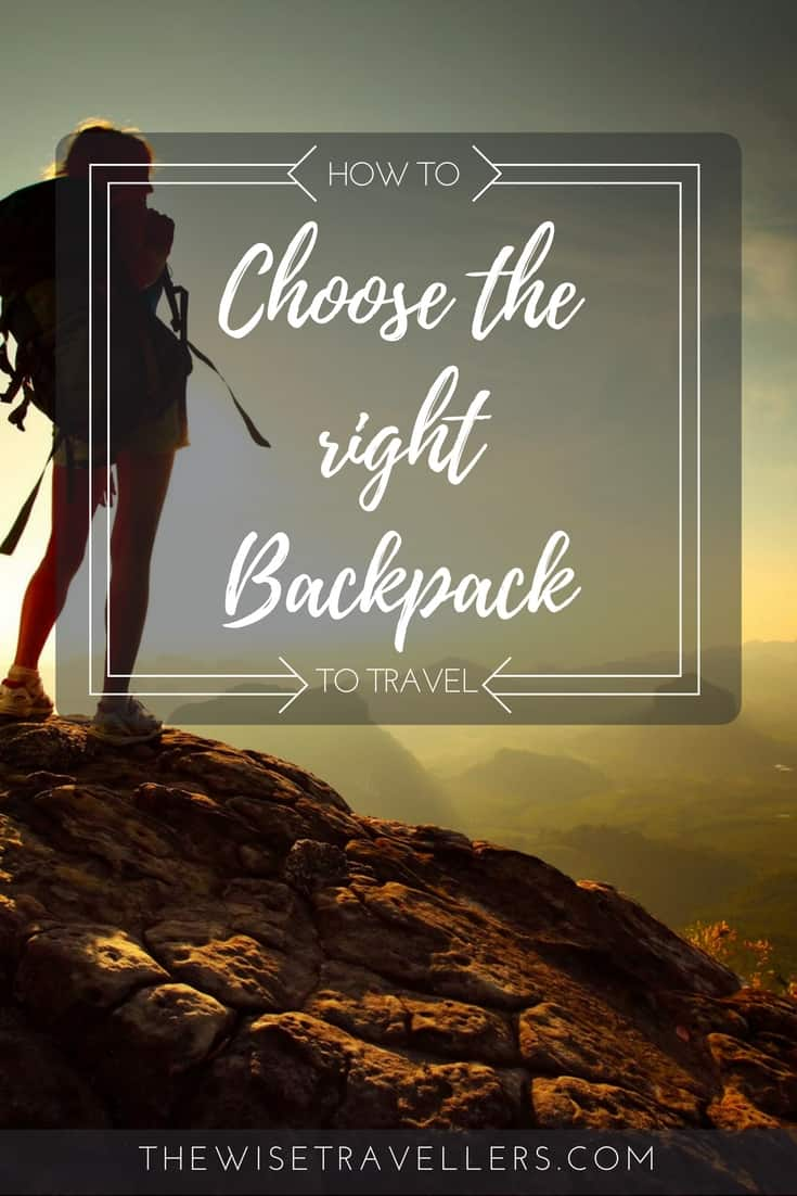 Pinterest choose the right bakcpack