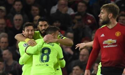 man unted barcelona champions league