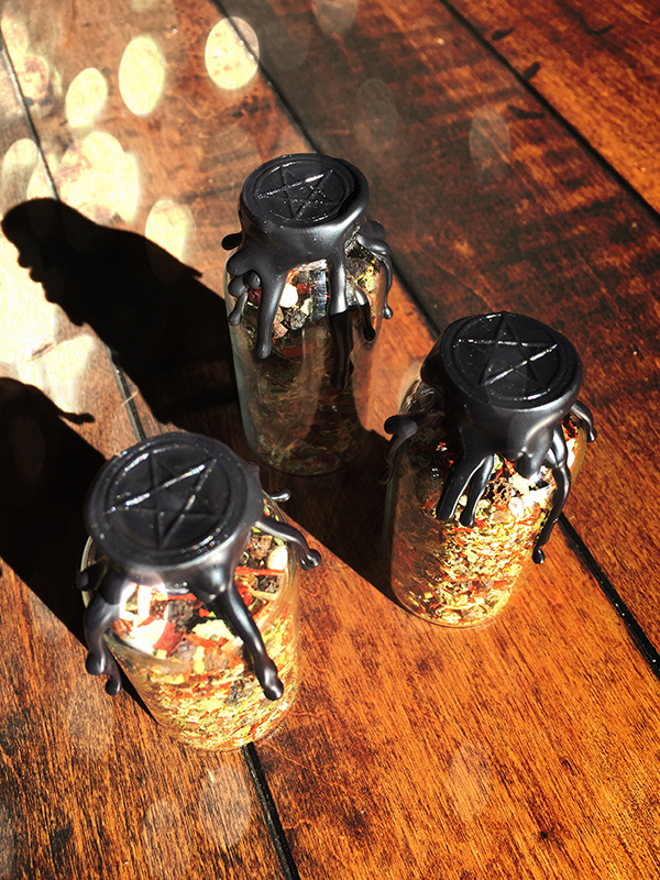 Witches Protection Bottle / Spell Bottle
