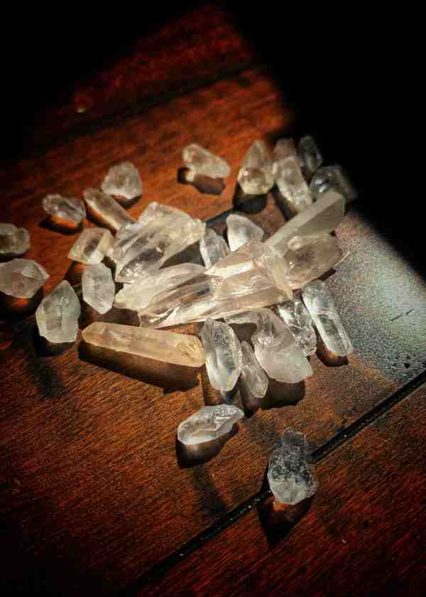 Raw Lemurian Crystal Point