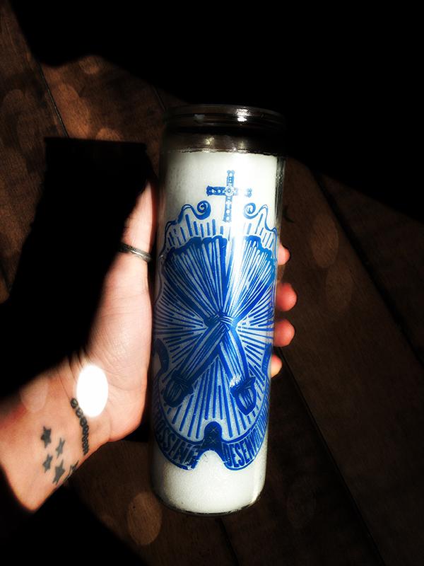 Uncrossing Vigil Candle