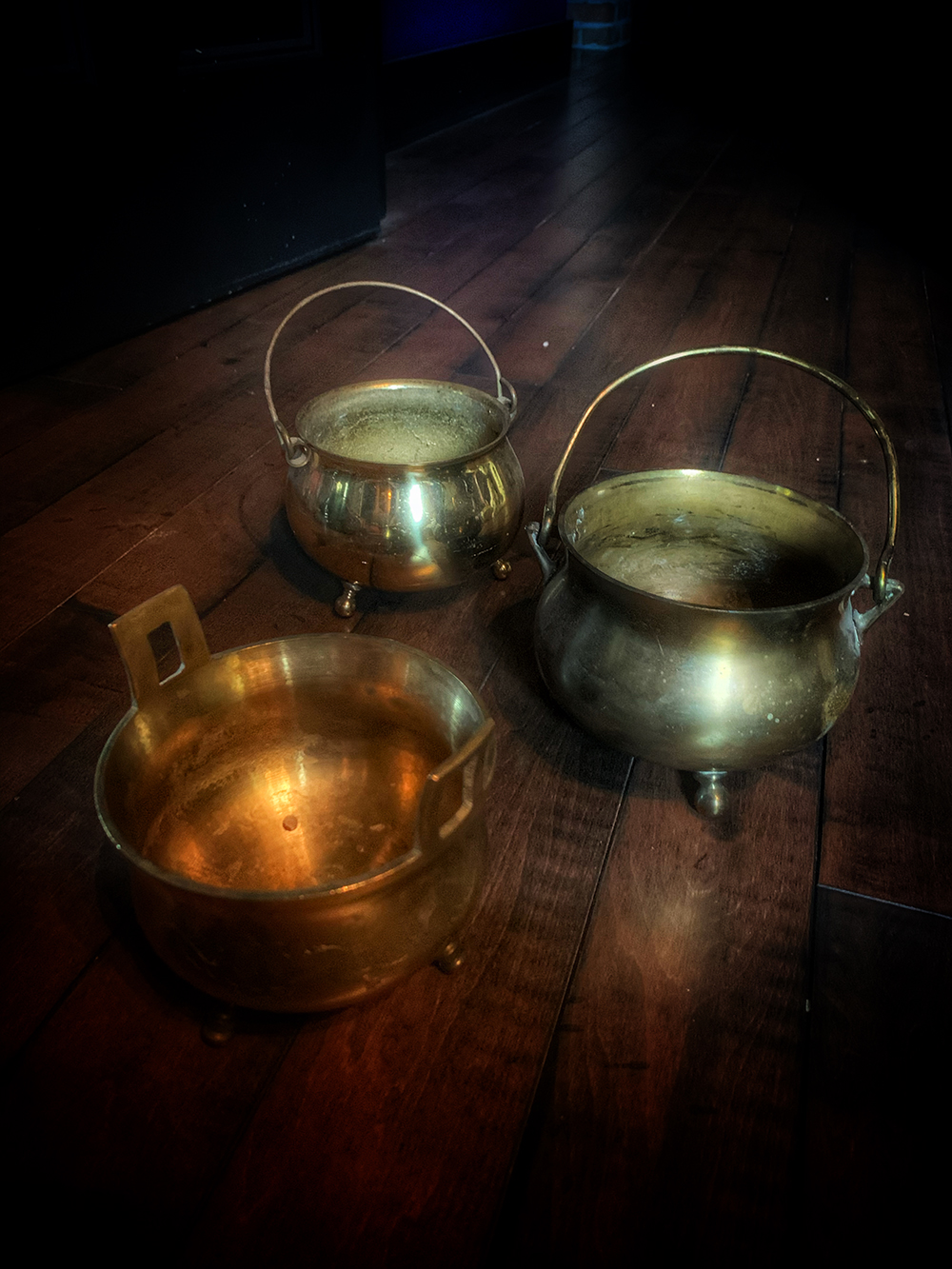 Vintage Witches Cauldron