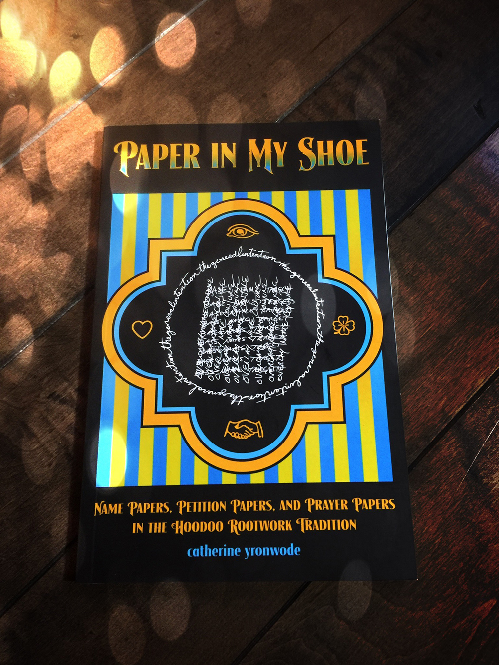 Paper in my shoe spell papers