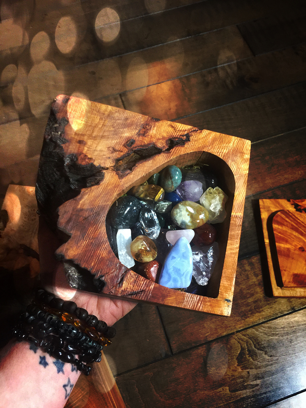 The Crystal Cache