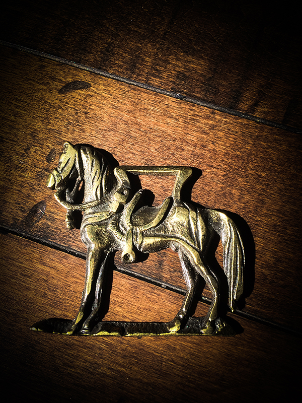Vintage Horse Harness Brass