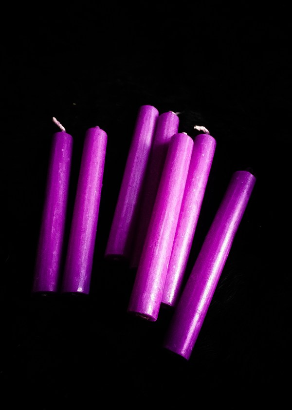 Altar Candle Purple / Spell Candle