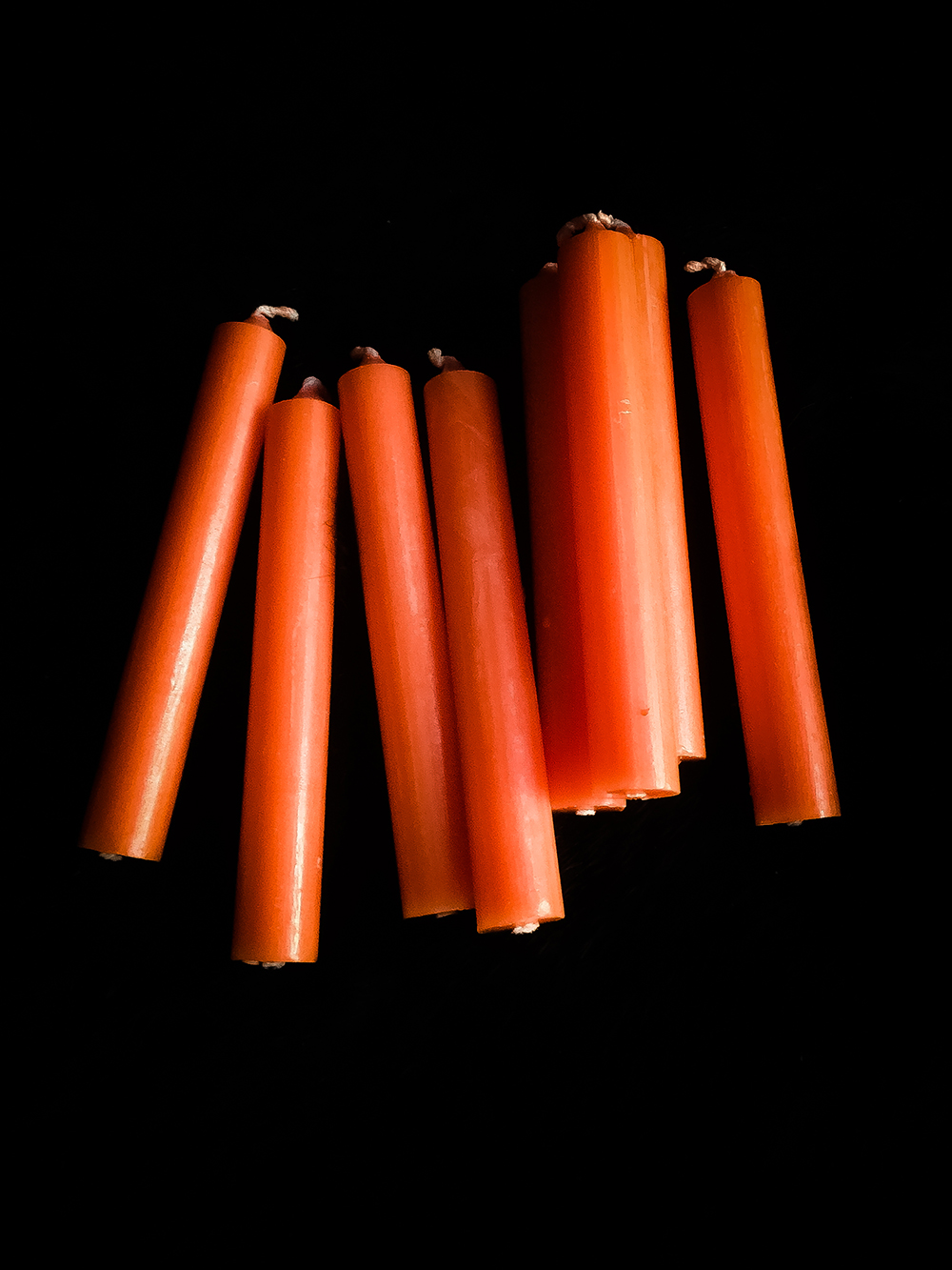 Altar Candle Orange / Spell Candle