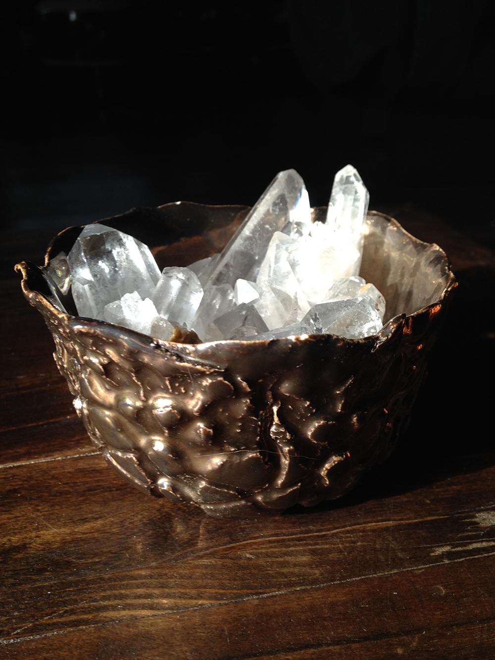 Bucket of Quartz