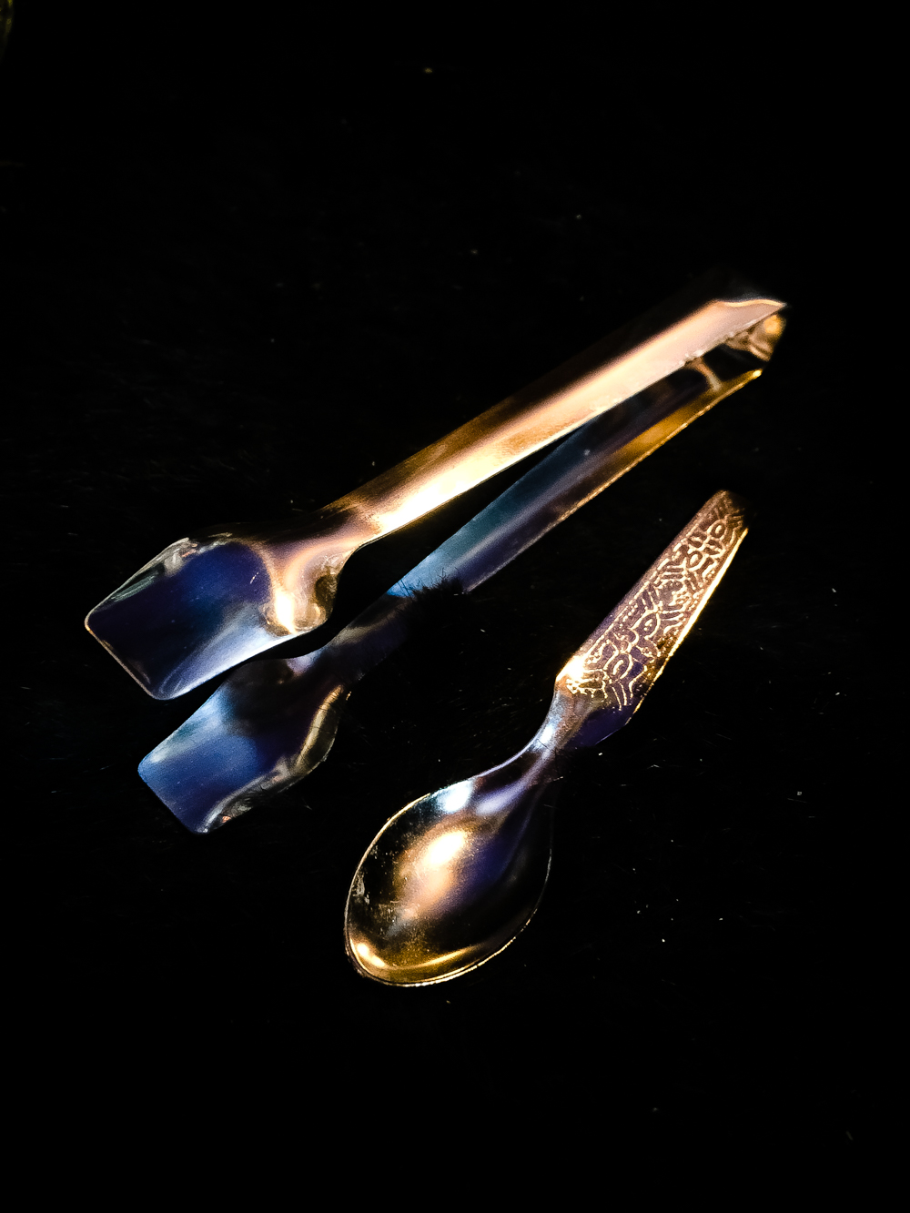 Charcoal Tongs & Spoon