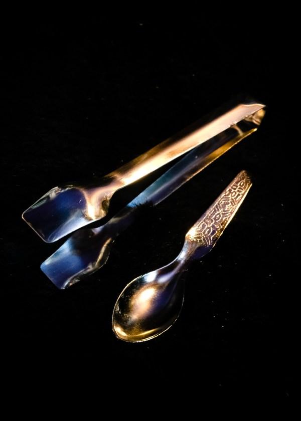 Charcoal Tongs & Spoon
