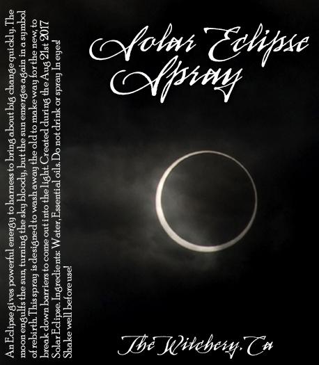 Solar Eclipse Spray