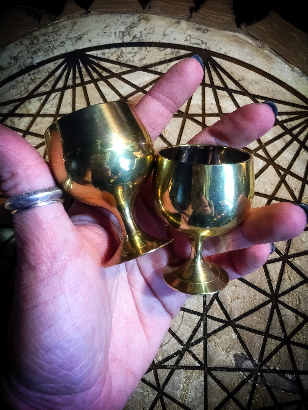 Mini Brass Altar Cup