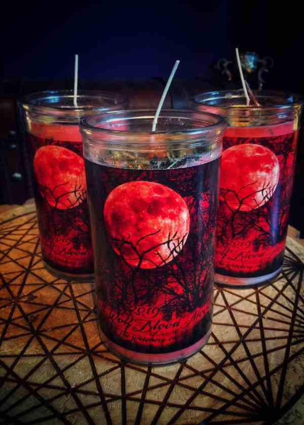 2019 Full Blood Moon Vigil Candle