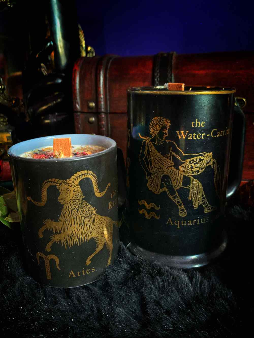 Vintage Zodiac Candle