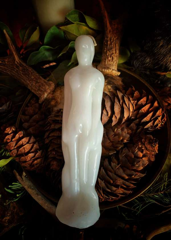 Figure Candle White