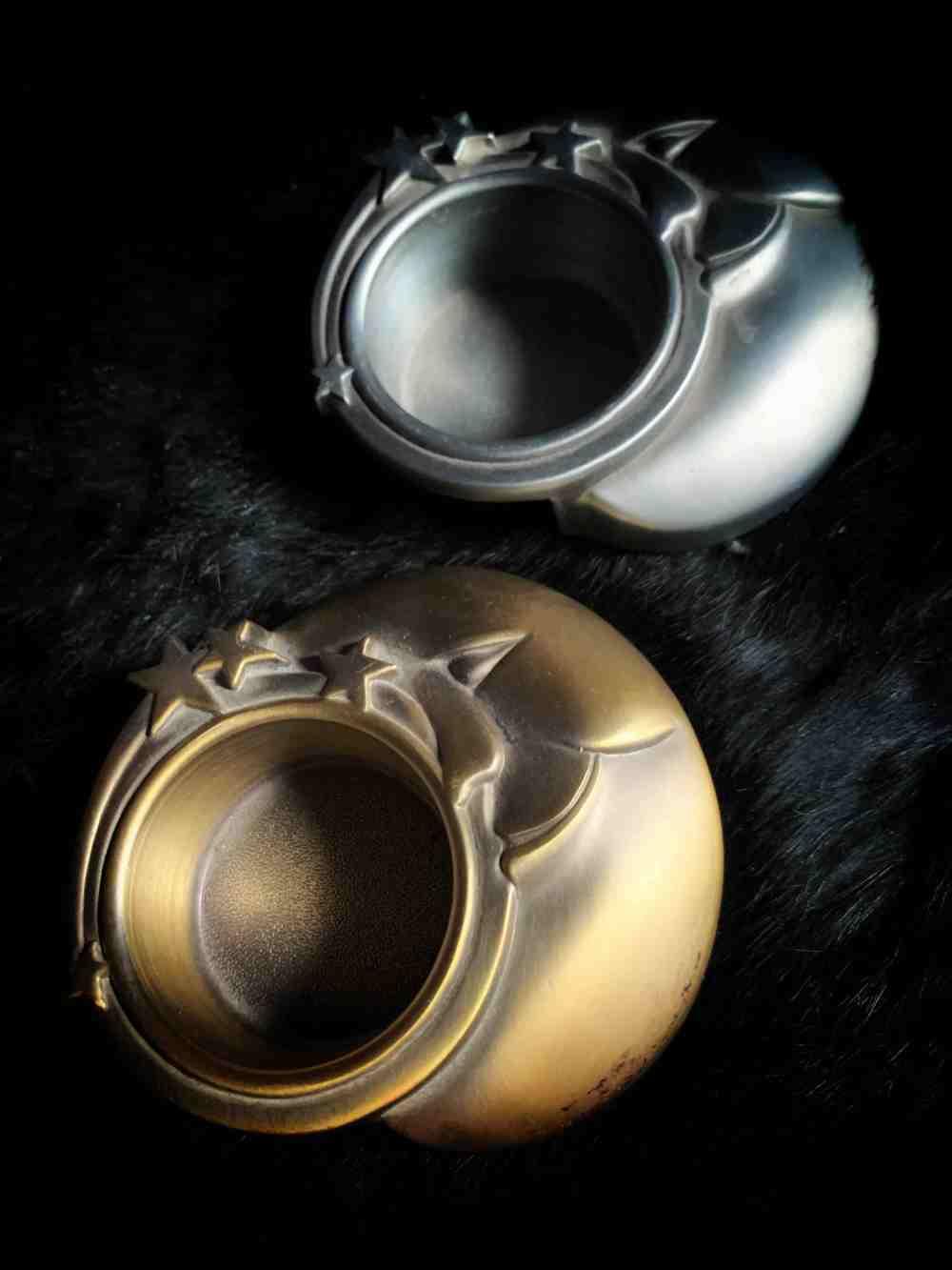 Celestial Moon Tea Light Holder