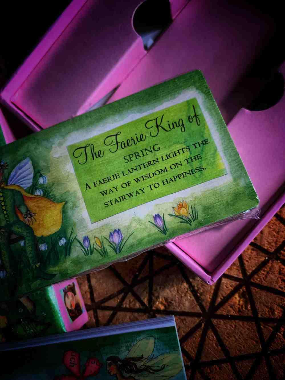 Faerie Wisdom: Book and Card Set