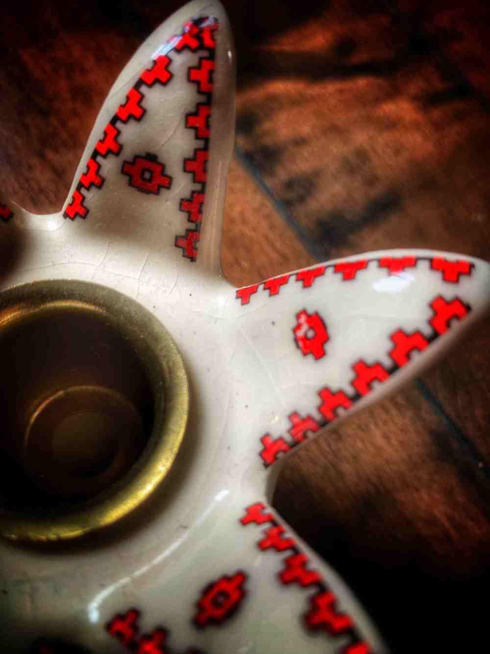 Candle Holder Vintage Slavic Surprise